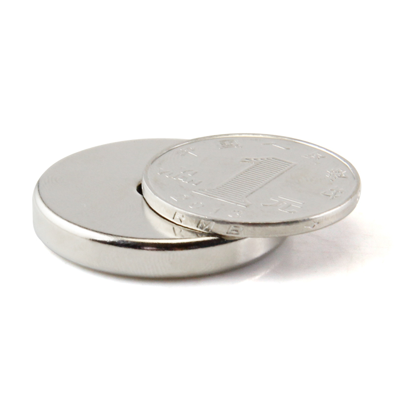 Free shipping rare earth permanent strong neodymium magnet  2pcs disc 30x5mm hole 5-10mm n50 bulk magnets nickel earth 2 society vol 4 life after death