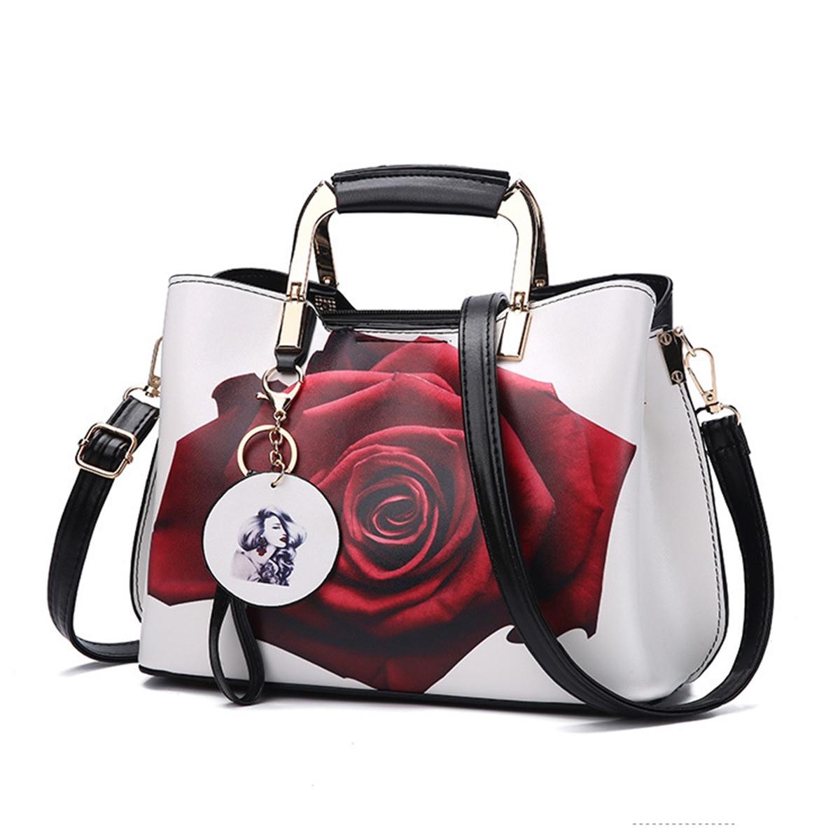 Women Handbag Leather Shell Women Shoulder Bag Crossbody Handbag Girls Pendant Big Elegant Luxury Handbags Women Bags Designer