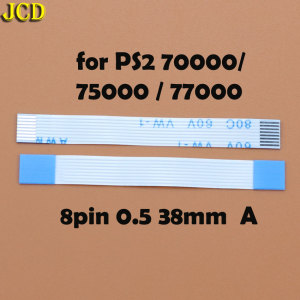 Image 5 - JCD 2pcs 7pin 8pin 12pin Ribbon Flex Cable for Sony playstation 2 PS2 Controller Charging PCB Board and Power switch Flex Cable