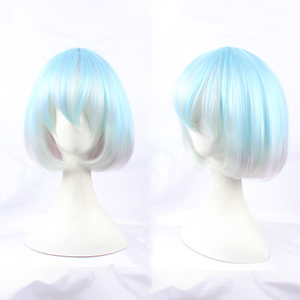 Image 2 - Anime Land of the Lustrous Houseki no Kuni Diamond Short Bob Cosplay Wig Synthetic Hair Halloween Costume Party Play Wigs