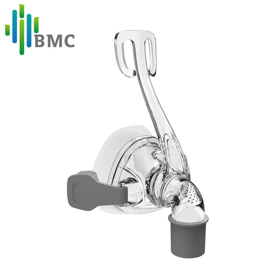 BMC NM4 назальная маска реер с головным убором и SML 3 размера Кремниевая Подложка для CPAP трубка для сипап сна Храп апноэ Здоровье и красота