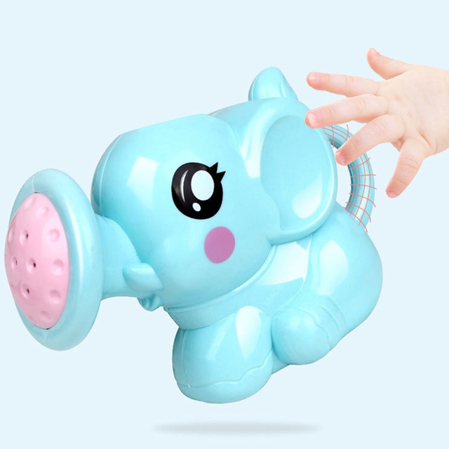 1PC Cute Baby Bath Elephant Toys Shower Kid's Water Tub Bathroom Playing Toy Gifts Hildren Bath Accessories 2