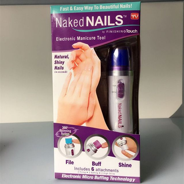 As Seen On TV Finishing Touch Naked Nails Electronic Nail Care ...
