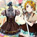 Горячая аниме Косплей Костюм Lolita Dress Девушки униформа Горничной Аниме Любовь Эфире Ханае Коидзуми Косплей
