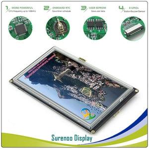 """Image 3 - 7.0 """"NX8048K070 nextion enhanced HMI USART szeregowy UART rezystancyjny ekran dotykowy moduł tft lcd panel wyświetlacza dla Arduino Raspberry Pi"""