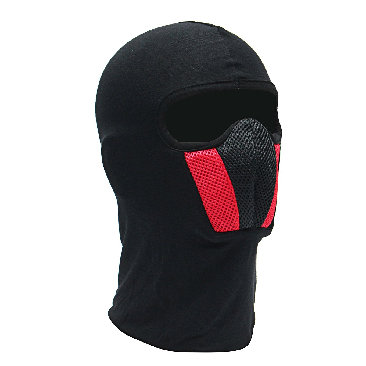 Windproof Motorbike Cycling Face Mask Balaclava Outdoor Riding Bike Ski Face Mask Breathable Motorcycle Helmet Hood купить недорого в Москве