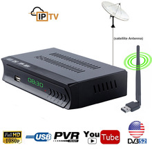 Digital DVB-S2 Satellite TV Receiver IPTV Combo HD AC3 Audio tv Tuner RJ45 Lan m3u Wifi Youtube IKS Cline Newcam Power VU Biss