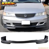 Подходит 1999 2004 Honda Odyssey PU новый передний бампер для губ бодикит JDM WW стиль