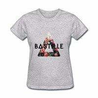 Gildan 2017 Hot Summer Women S Bastille Art Design T Shirts Unicorn Brand Women S T