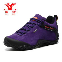 Top Quality Womens shoes sales Sports Hiking Trekking Sneakers Shoes For Women Purple Outdoor Climbing Mountina Shoes Woman