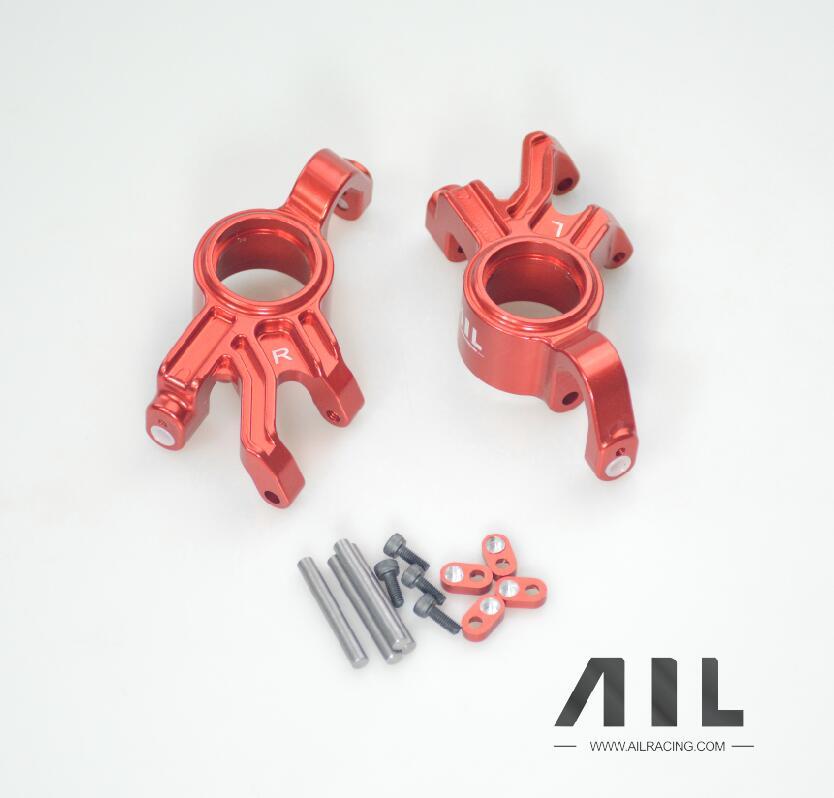 ALLRC 6061 t6 CNC In lega di Alluminio Opzionale aggiornamento Del Metallo tazza di Sterzo componenti per trax X xmaxx parti di automobili del rc - 4