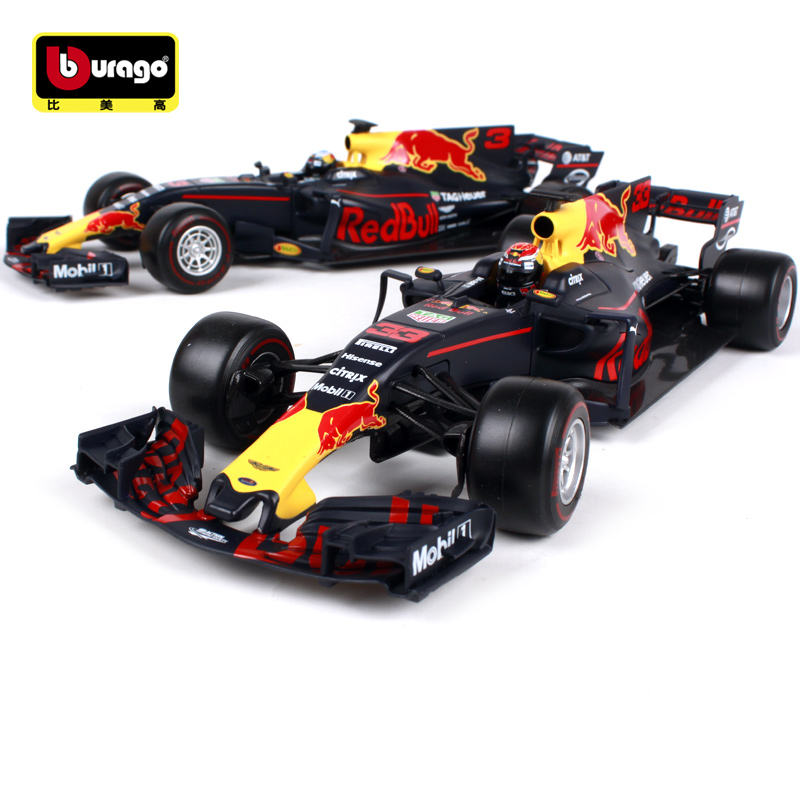 Maisto Bburago 1:18 2017 Red Bull Racing TAG Heuer RB13 F1 Formula One Racing Diecast Model Car Toy New In Box Free Shipping maisto bburago 1 18 1959 jaguar mark 2 ii diecast model car toy new in box free shipping