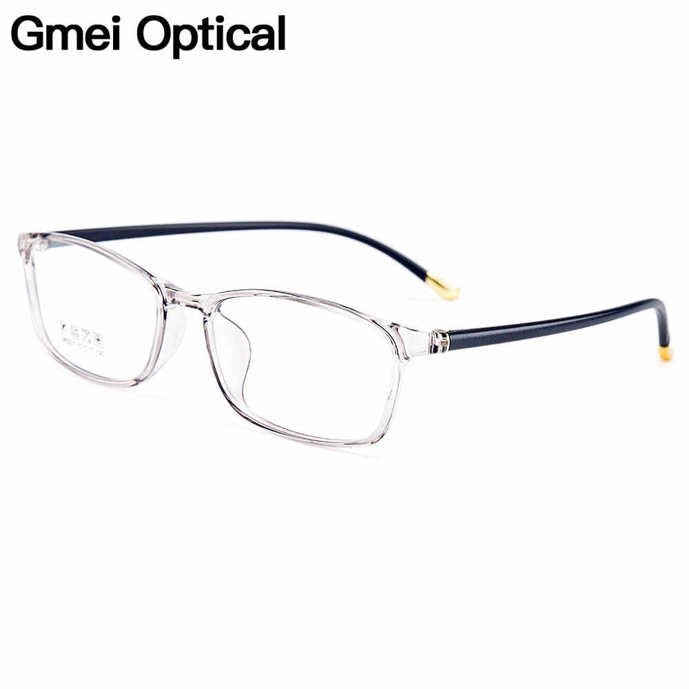 e4e0f138e03 Gmei Optical Urltra-Light TR90 Women Optical Glasses Frames Plastic Optic Glasses  Frame For Men