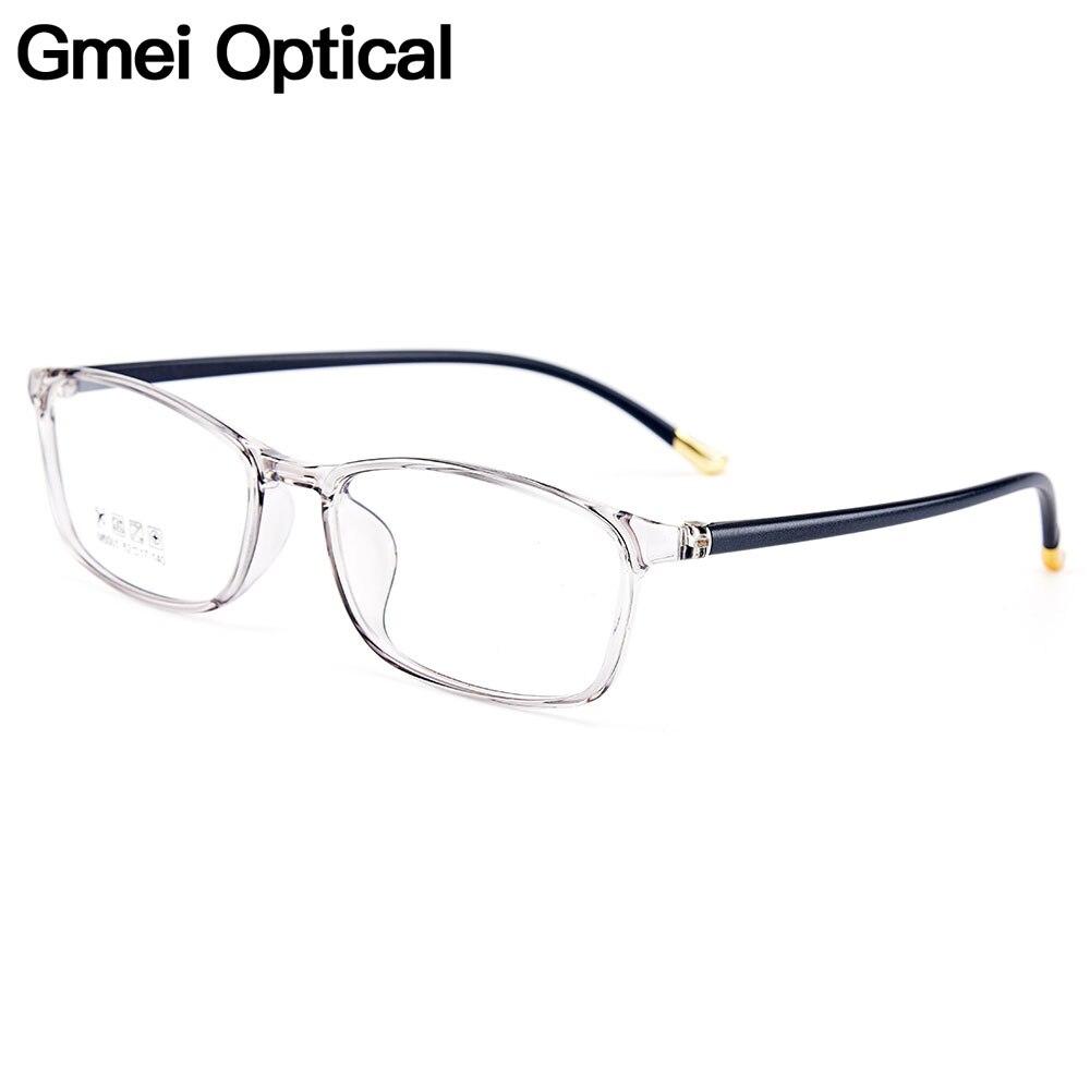 Gmei Optique Urltra-light TR90 Femmes Optique Lunettes Cadres En Plastique Optique Lunettes Cadre Pour Hommes Myopie Lunettes Oculos M5001