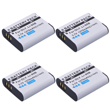 4pack LI-90B LI 90B LI90B LI-92B Camera Battery For Olympus Tough TG-5 TG-Tracker SH-1 SH-2 SP-100 IHS Tough TG-1 iHS TG-2 iHS