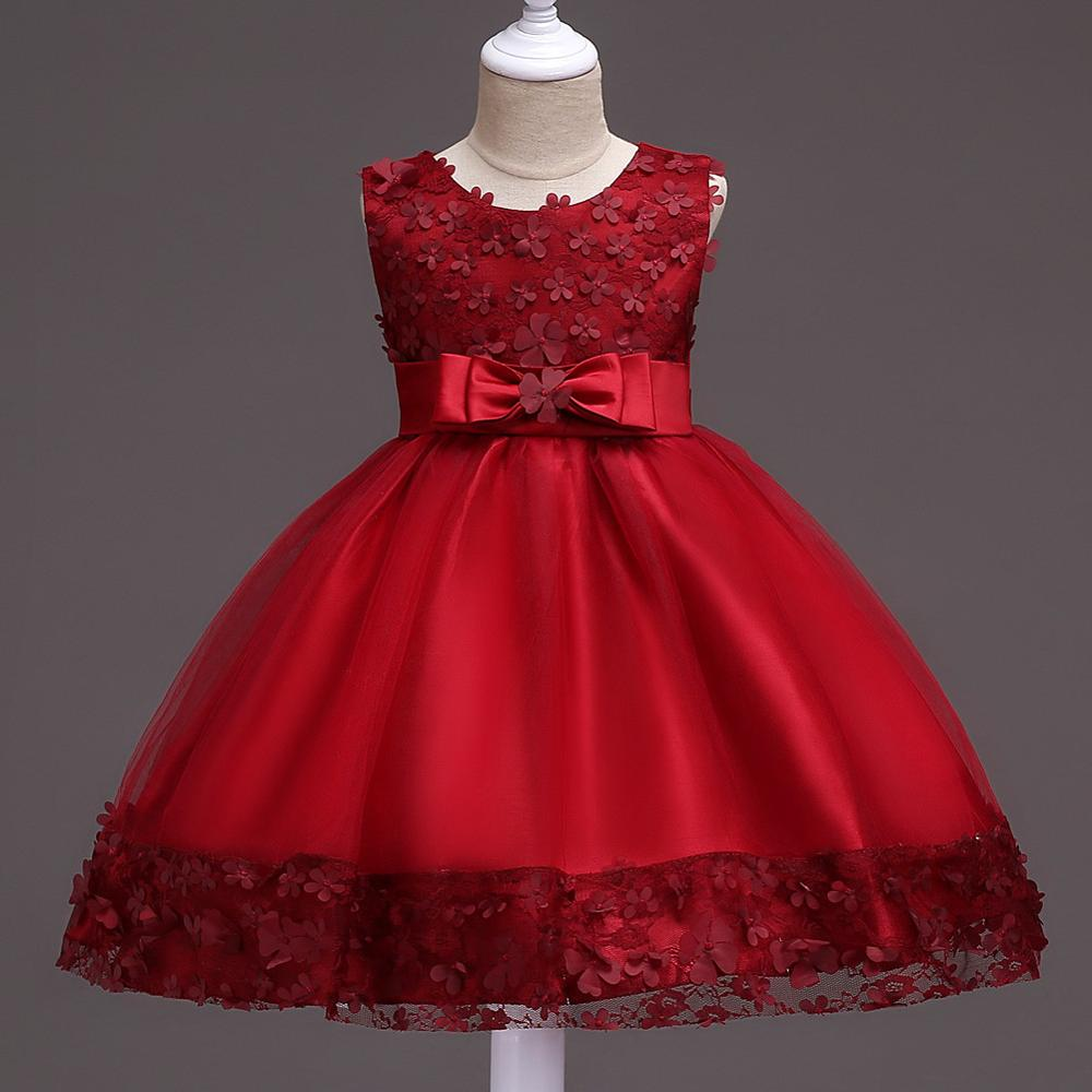 Online Shop New Formal Teenage Girls Party Dresses Baby Girl ...