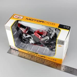 Image 5 - Klasik 1:12 ölçekli Maisto Honda CBR 600RR CBR600RR Diecast model moto motosiklet yarış araçları çoğaltma süper bisiklet hobi oyunu oyuncak
