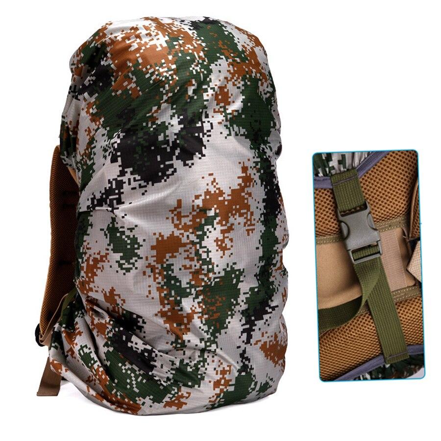 Cubierta de lluvia mochila 90L 95L 100L impermeable bolsa de Camo del ejército táctica al aire libre Camping senderismo escalada polvo lluvia Molle mochila
