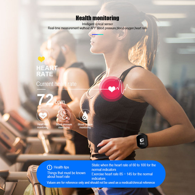 VERYFiTEK Monitor Blood Pressure, Oxygen, Heart Rate and more, for IOS or Android