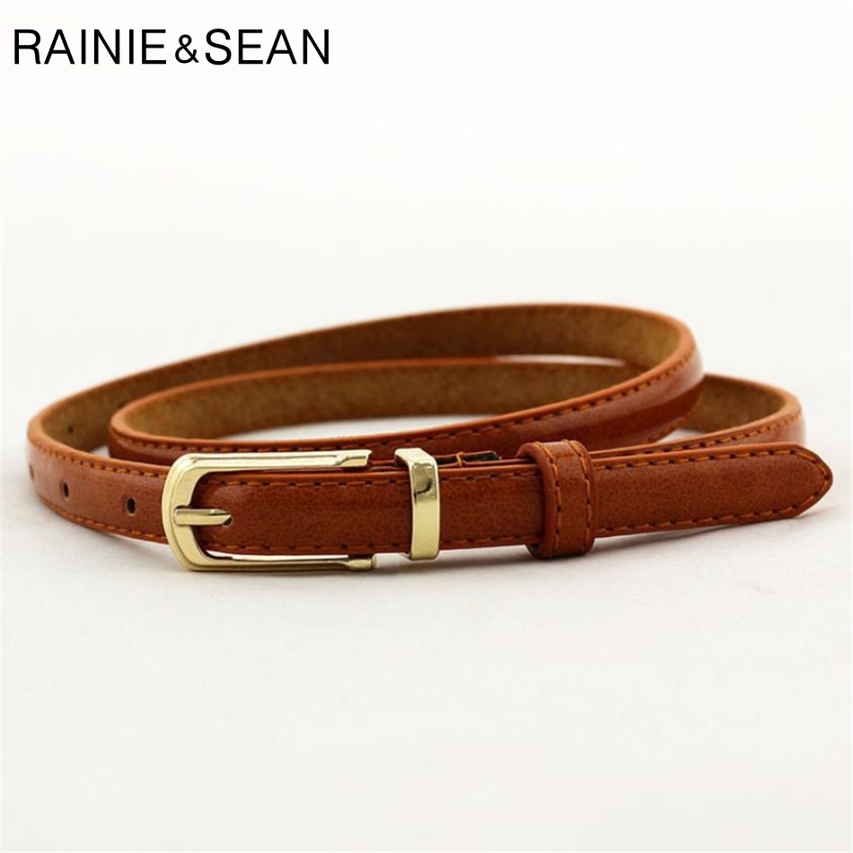 Back To Search Resultsapparel Accessories El Barco Faux Leather Belts For Women Embossing Print Black Red Female Jeans Belt Luxury Camel Brown Casual Strap Cinturon Mujer Matching In Colour