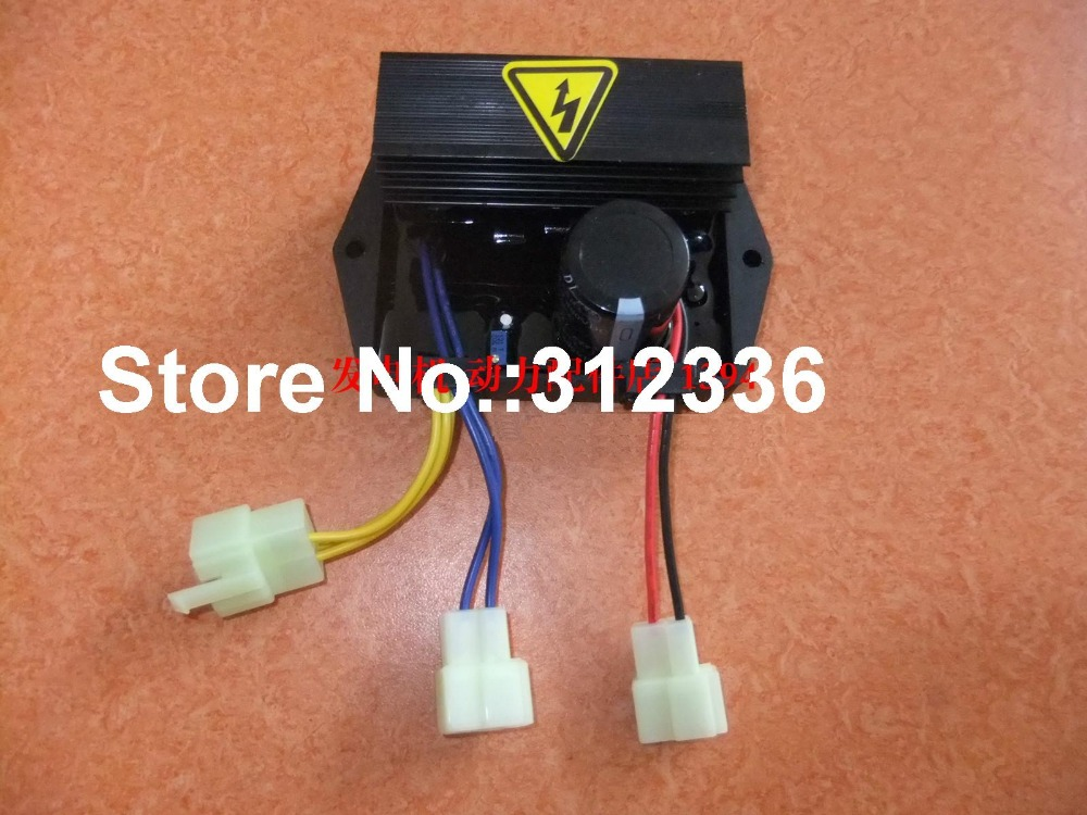 Free shipping 8.5KW-15KW AVR gasoline generator Automatic Voltage Regulator suit for other Brand fast shipping 3kw 220v 50hz flat shaft 19 rotor stator gasoline generator diesel generator suit for any chinese brand