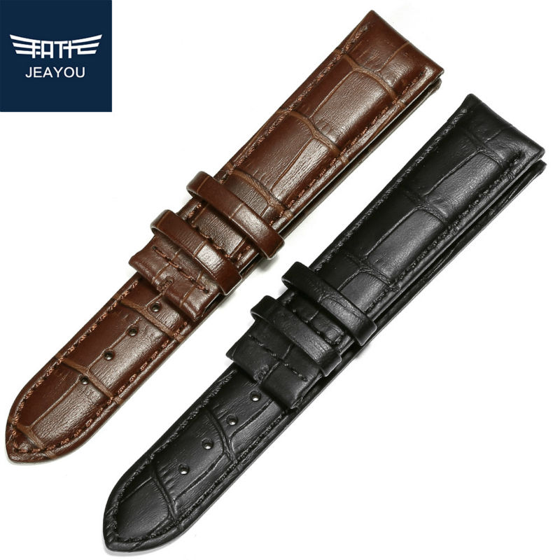 JEAYOU New Arriaval Leather font b Watch b font Strap Watchbands For font b Casio b