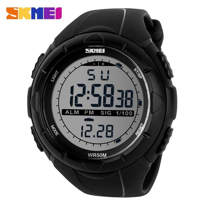 Hot Sale SKMEI Brand Men Military Sports Fashion Casual Watches Multifunction Digital LED Watch Men Wristwatch relogio masculino стоимость
