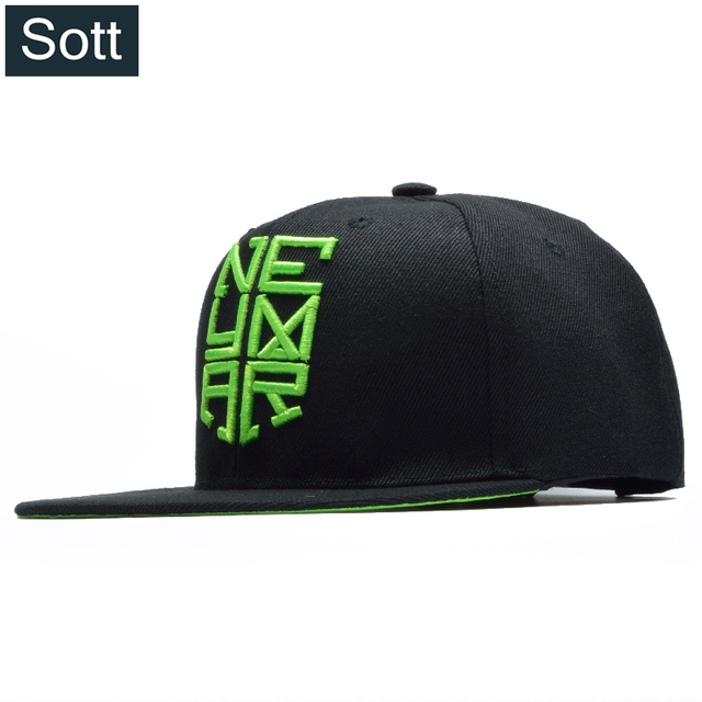 SOTT  High Quality Neymar Snapback Caps Adjustable Hip Hop Brazil Bone  Gorras Soccer Cap Mens Brand NJR Swag Kpop Casquette 44c09b0f169