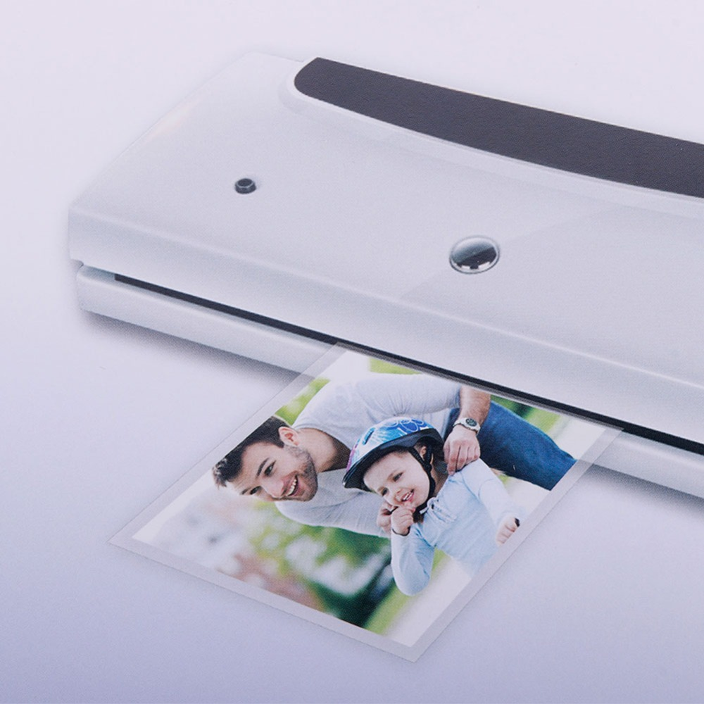 100Pcs/pack 4 Inch Laminate Film Thermal Laminating Pouch Glossy Protect Photo Paper New #276028