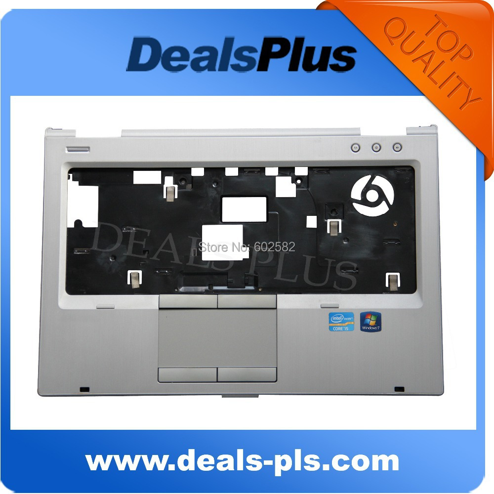 FOR HP ELITEBOOK 8460P LAPTOP PALMREST WITH TOUCHPAD 642747-001, 95% NEW