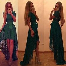 Женская одежда, платья, летнее сексуальное винтажное зеленое официальное кружевное длинное платье макси, вечерние платья