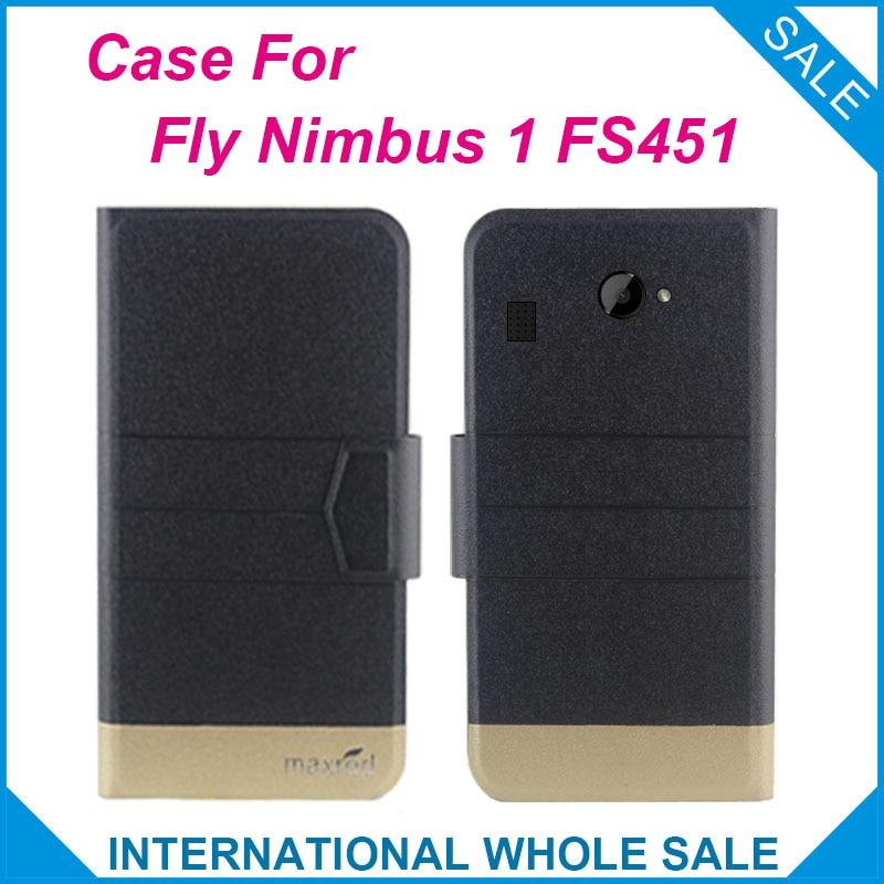 5 colores calientes! Funda Fly FS451 Nimbus 1, 2017 Funda de cuero - Accesorios y repuestos para celulares - foto 1