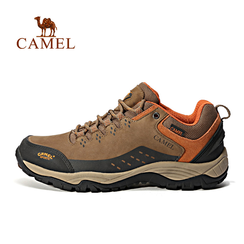 CAMEL New Outdoor Hiking Shoes For Men Shock Absorption Anti-skid Wear-resistant Camping Hiking Walking Trekking Sneakers