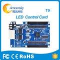 Colorlight tarjeta de control de pantalla led t9 síncrono recibir tarjeta