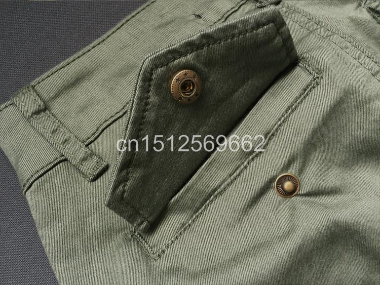Army Green Jeans Women 15