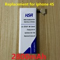 2800mAh high capacity battery Replacement for iphone 4S 4GS