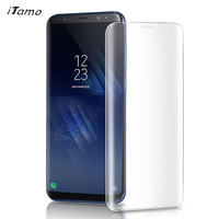 2Pack ITAMO For Samsung Galaxy S8 S8 Plus Tempered Glass Screen Full Screen Coverage 9H 3D