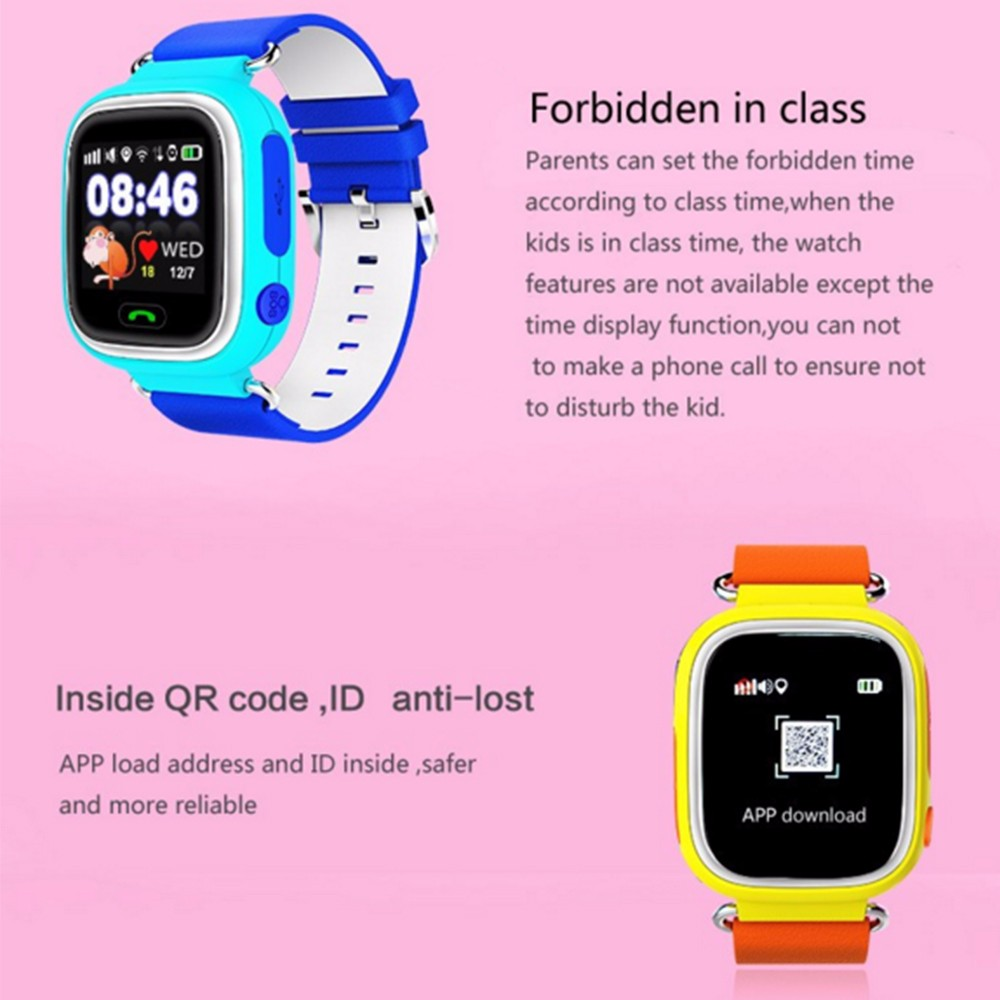 Multifunction Touch Screen Positioning font b Smart b font font b Watch b font baby font