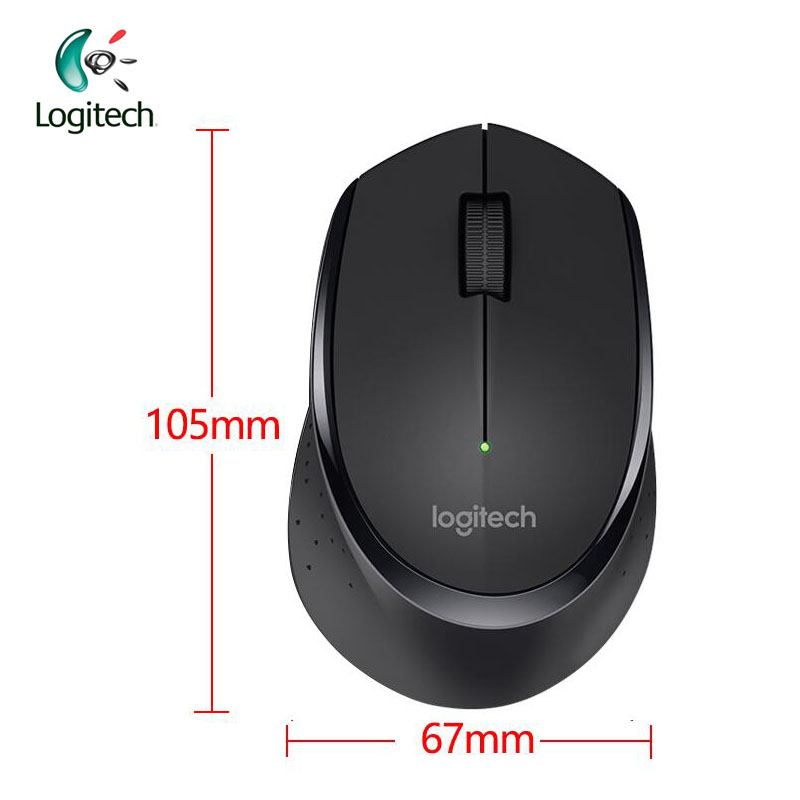 Logitech M330 Wireless Mouse 2.4GHz con negro / blanco para PC Game - Periféricos de la computadora - foto 6