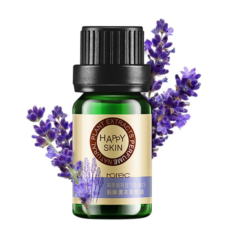 10ml Nature Lavender / Tea Tree / Rose Essential Oil Facial Cleanser Hyaluronic Acid Anti-Wrinkle Anti-Aging Grease Moisturizing