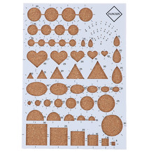 1PC Quiliing Corkboard Template Paper Tool Paper-scrolling Filigree Mosaic Quilling Decoration Card DIY Carft Paper(China)