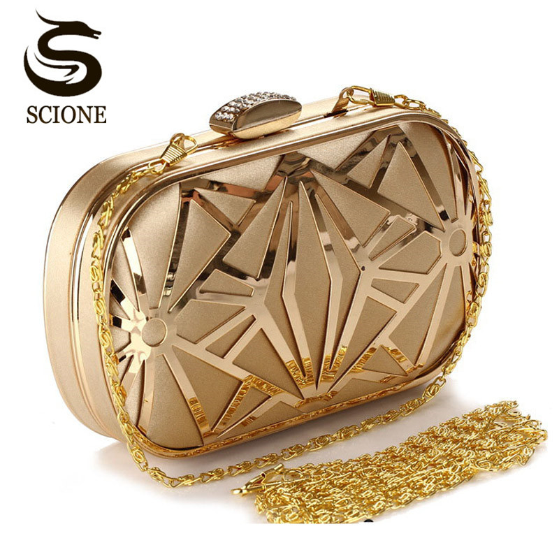 2018 Wedding Party Bags Clutches Women Gold Crystal Evening Bags Purse Factory Price Golden Clutch Bag Black Small Handbag 3030 free shipping for fedex dhl ems factory price 2013 lady s stitching color long series crystal evening bag clutch bag handbag