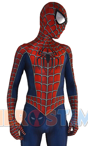 Raimi Spiderman Costume Cosplay raimi spider-man Suit 2016 superhjälte kostym fabrik grossist