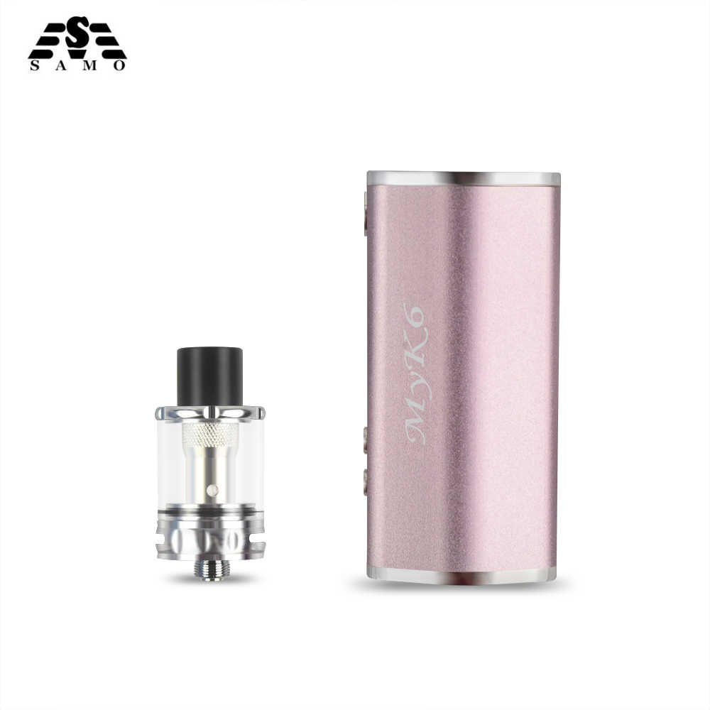 2018 Newest original MYK6 Electronic Cigarette for liquid mod box e cigarettes vape pen LED Screen with 2000mah bulit-in battery