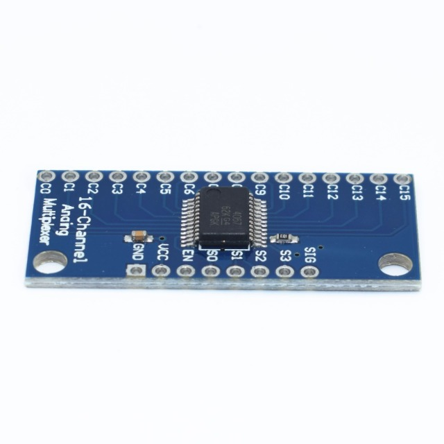 Smart Electronics CD74HC4067 16-Channel Analog Digital Multiplexer Breakout Board Module