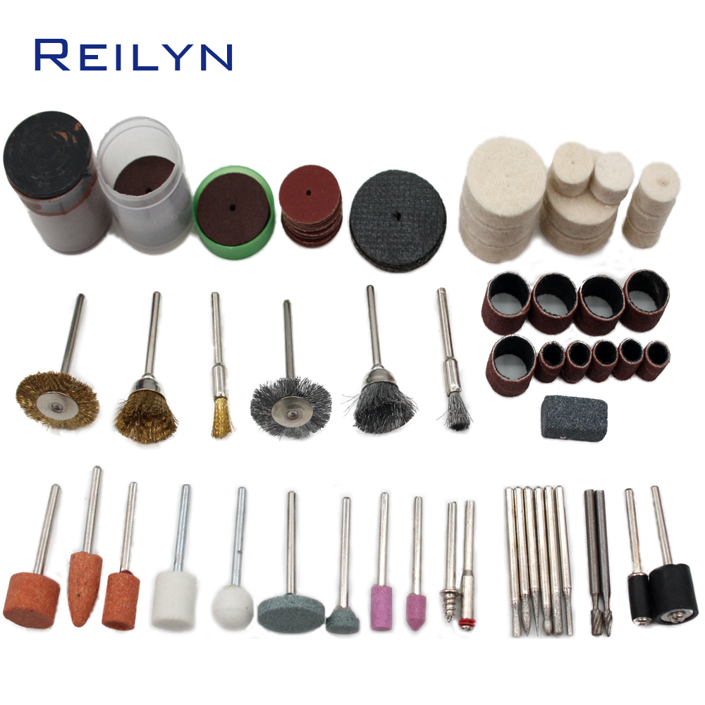 Grinding Tools Suit 99 Pcs Grinding Bits Kit Cutting/abrasing/polishing Bits Abrasives Kit  For Grinder Or Rotary Tools