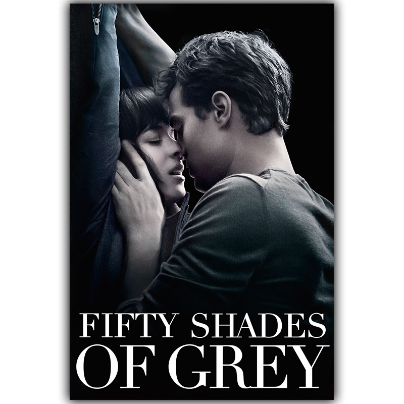 Fifty Shades of Grey Art Silk Poster Print 30x45cm 60x90cm Inspirational Movie Pictures Poster Living Room Decor