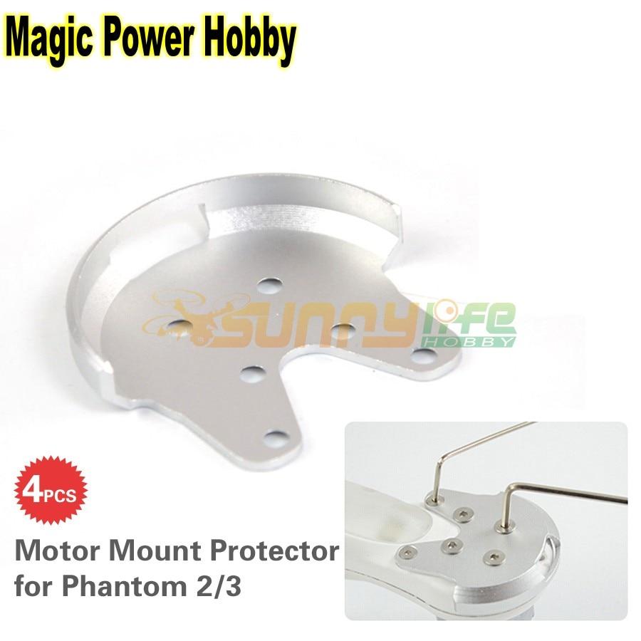 4pcs Aluminum Motor Mount Protector Quick Release
