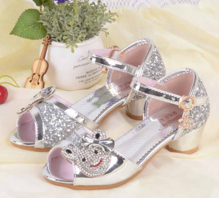 Nieuwe zomer meisjes prinses sandalen kinderschoenen kinderen meisjes - Kinderschoenen - Foto 6