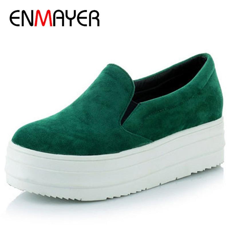 78277c3ad662 ENMAYER New Women Flats Casual Ladies Shoes Flats Women ...